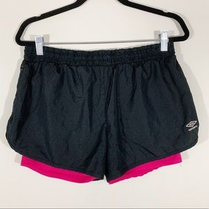 UMBRO . Running Shorts . L